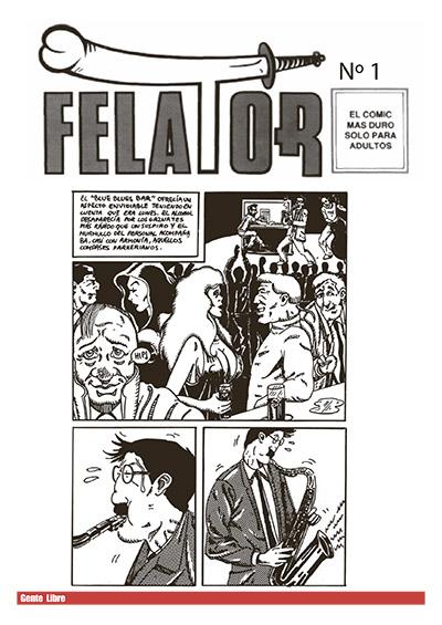 FELATOR: El comic más duro solo para adultos!!