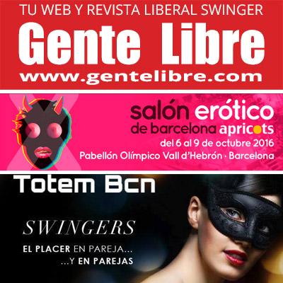 GENTE LIBRE en el Salón Erótico de Barcelona
