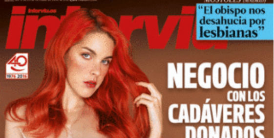 Amarna Miller protagoniza la próxima portada de Interviu