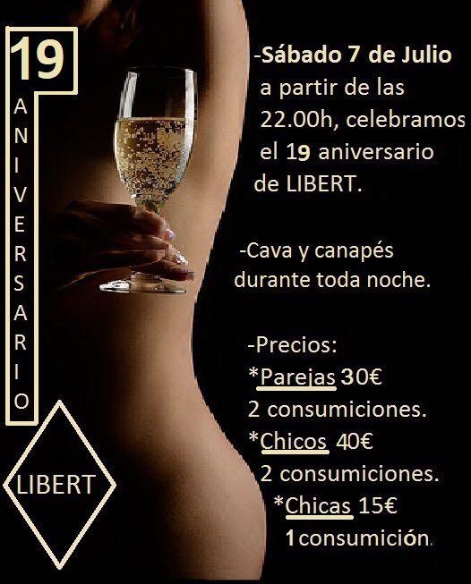 19 aniversario LIBERT en Libert Bcn