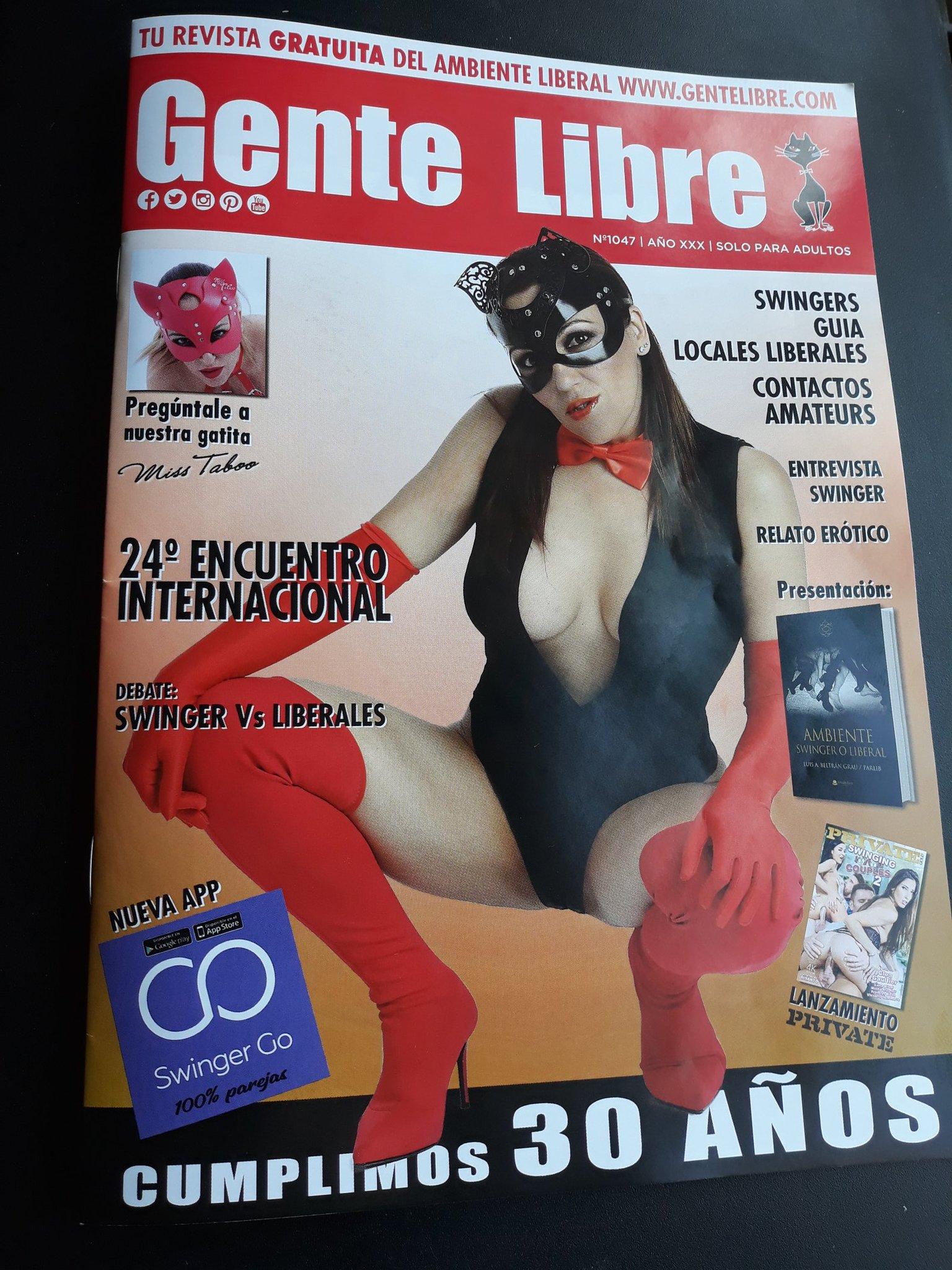 Nuevo ejemplar de la Revista GENTE LIBRE ya disponible en toda España