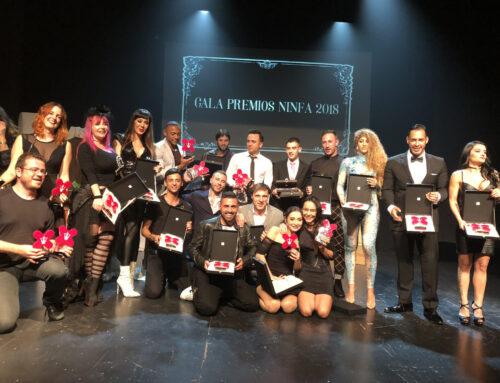 Premios Ninfa 2018 del Salón Erótico de Barcelona
