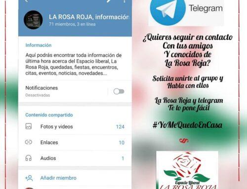 La Rosa Roja en Telegram