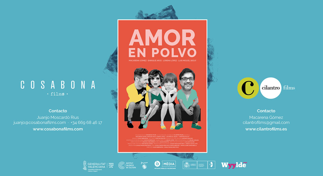 AMOR EN POLVO, la película