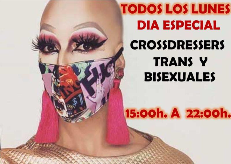 Todos los Lunes día Especial Crossdressers y Trans en Charlie Privée