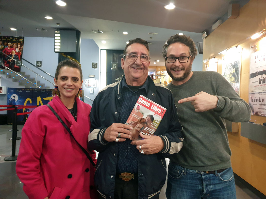 Gente Libre en el preestreno de la película AMOR EN POLVO