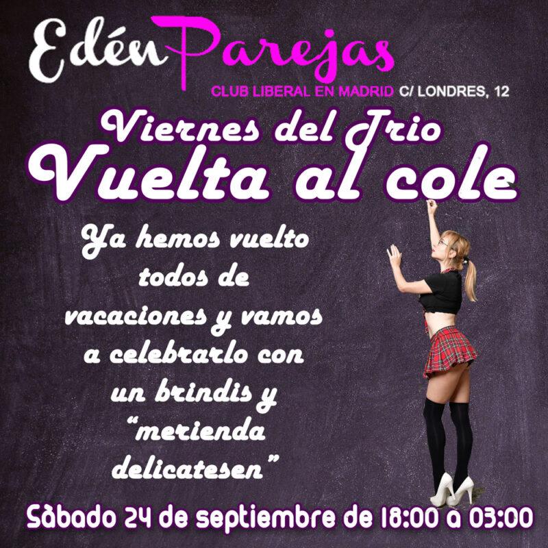 Edén Parejas Club Liberal en Madrid